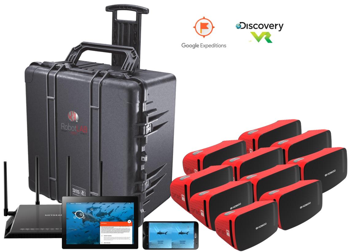 Kit de Realite Virtuelle Standard RobotLAB